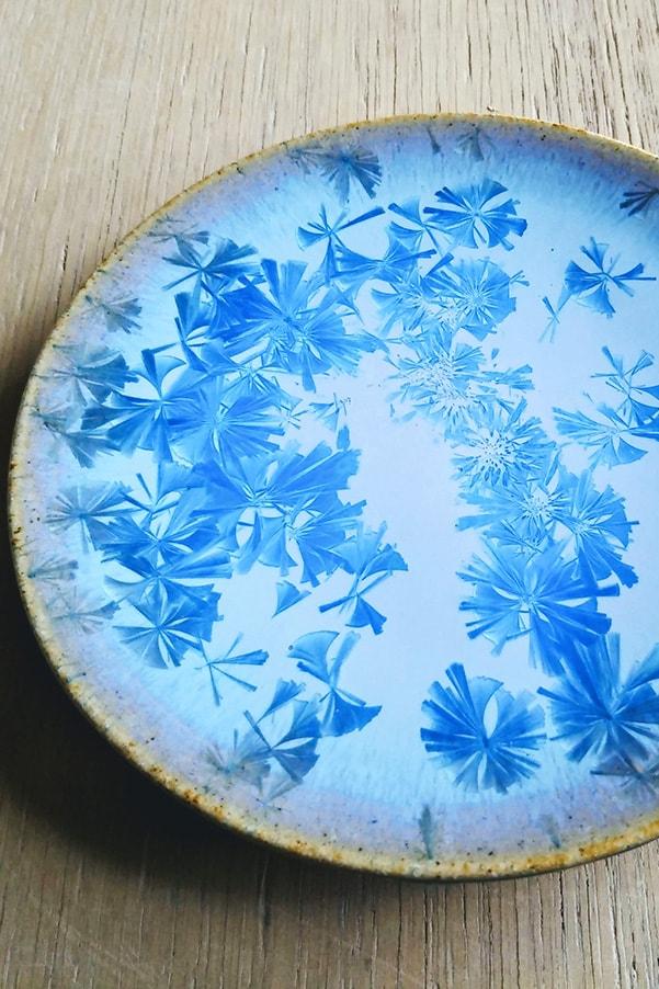 青結晶小皿